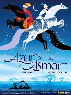 """""""Azur et Asmar"""" is a French-Spanish-Belgium-Italian children's masterpiece from Michel Ocelot.  Visually stunning, the imagery evokes, French, Dutch, Islamic and Persian art and influences.  Unbelievable animation, storytelling, and art."""