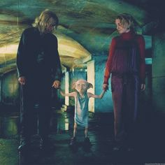Luna: whenever you're ready, sir.  Dobby: Sir... Oh, I like her.