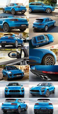 Update1 2015 Porsche Macan Turbo and Macan S – Interior/Exterior Photos Performance Specs