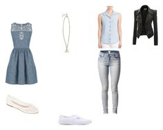 """Modern Ravenclaw"" by midnightsdream ❤ liked on Polyvore featuring Hot Topic, Savannah, Oasis, Splendid, Doublju, Vans, Summit by White Mountain and modern"