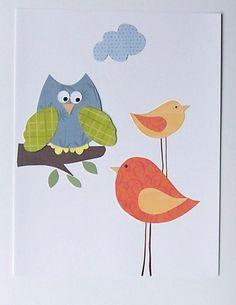 So nice to see you-Baby Nursery Art Decor Kids Wall Art Children's Art by vtdesigns, $14.00