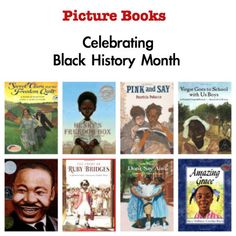 African-American History Through Picture Books  This Top 10 list of African-American Picture Books is different for me, because rather than list the books from favorite to most favorite as I usually do, I chose instead to list the books in historical chronology such that each book touches on a significant period or event of African-American history in the United States.