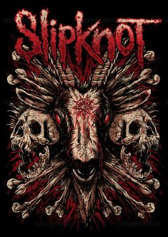 Slipknot Merchandise Graphic by Yvdharest on CreativeAllies.com