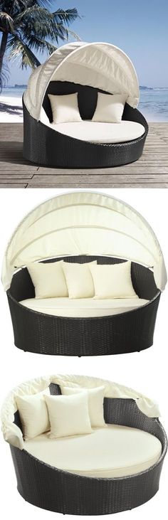 wow an outdoor canopy bed ♥ OH yes please!  | followpics.co