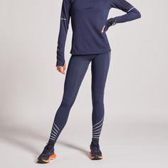 HARDLOOPBROEK VOOR DAMES KIPRUN WARM ( met koraal oranje, maat M) Running In Cold Weather, Winter Running, Cold Weather Outfits, Running Socks, Running Jacket, Running Shirts, San Fernando, Online Checks, Black Tights