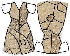 pattern of sallys dress from Nightmare before Christmas - Google Search