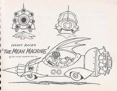 Wacky Races - The Mean Machine