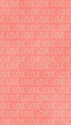 LOVE. iPhone wallpaper