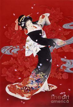 Hien Digital Art by Haruyo Morita