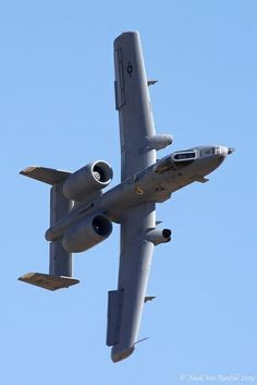 A-10 Warthog. Sounds like the Reaper coming to steal your soul away.