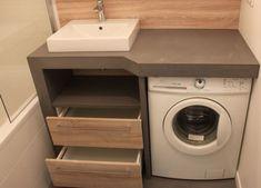 Comment cacher votre lave-linge : 12 designs de meubles pour recouvrir votre machine à laver | Atlantic Bain
