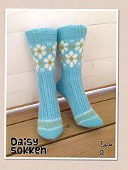 Ravelry: Daisy Sokk pattern by Lill C. Schei