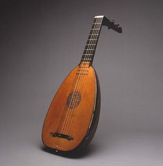 Sixtus Rauchwolff (German, Augsburg 1556–1619). Lute, 1596. Wood, various other materials. The Metropolitan Museum of Art, New York. Gift of Joseph W. Drexel, 1889 (89.2.157). #MetMusic