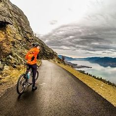 The Kettle Valley Rail Trail near Penticton in BC's Thompson Okanagan region.   (Photo: @acbarry via Instagram) #exploreBC #exploreCanada