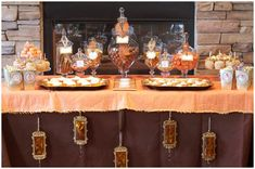 Lil'pumpkin baby shower but decor could work for fall/halloween