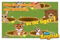 Fun English - language learning games for kids