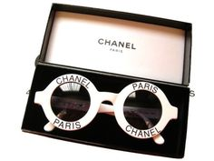 To know more about CHANEL Vintage Chanel sunglasses for a perfect summer look, visit Sumally, a social network that gathers together all the wanted things in the world! Featuring over other CHANEL items too! White Sunglasses, Sunglasses Outlet, Ray Ban Sunglasses, Round Sunglasses, Vintage Sunglasses, Circle Sunglasses, Clubmaster Sunglasses, Sunglasses Online, Coco Chanel