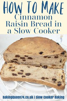 Find out how to make cinnamon and raisin bread for your breakfast in your crockpot!