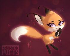 miraculous ladybug fox Kwami | Tumblr