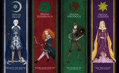 The Big Four refers, in the fan community, to crossovers between Jack Frost, Rapunzel, Merida (of Brave fame) and Hiccup (of Dragons fame.>>> this is so awesome wth Disney Pixar, Arte Disney, Disney Memes, Disney And Dreamworks, Disney Cartoons, Disney Art, Tiana Disney, Disney Characters, Jack Frost