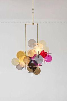 Normann Copenhagen Plexiglas Light Interior Lighting Home Modern Chandelier Chandeliers