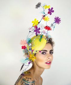 Harvy Santos hats http://www.paulatrendsets.com/2014/10/riot-harvy-santos-spring-summer-2015/