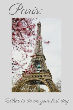 Plan a trip to Paris | What to do in Paris | Paris itinerary | Itinerary for Paris one day