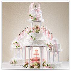 Wedding Cakes with Fountains   Fountain Wedding Cake   Elegant ...