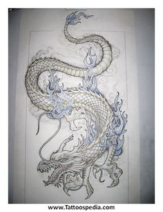 dragon tattoo sleeve outline - Google Search