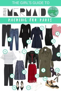 What to pack for Paris in Autumn/Fall