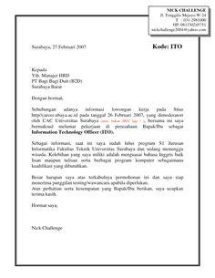 contoh application letter job fair Buat temen-temen yang mencari kerja di job fair, disini saya sediakan contoh surat lamarannya,,, semoga dapat membantu lamaran utk job fair.