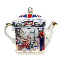 english teapots made in england | ... Sadler collectible teapot with gold trim Gift Boxed Made in India