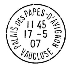 French Stamp Postmark Post Mark French Decor Wall by DigitalThings Vintage Images, French Vintage, Monogram Stencil, Decoupage, French Typography, Style Retro, French Decor, Paris, Vintage Labels
