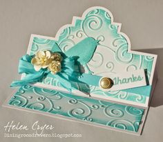 The Playful Collection by Stephanie Barnard for Sizzix - Flip-its & Stand-Ups Cards