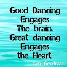 Great dancing