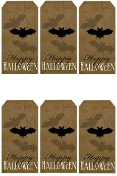 Sweetly Scrapped: Free Printable Halloween Tags