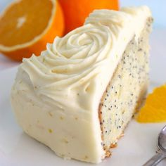 Orange & Poppy Seed Cake from My Food Book