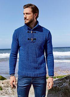 Confortable à porter et facile à tricoter, le pull camioneur réalisé en fil CHINAILLON discrètement moucheté : 10 % alpaga - 30 % laine peignée - 56 % acrylique - 4 % viscose. Lavage machine programme laine recommandé.