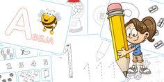 Descarga gratis un montón de fichas de Infantil gratis e imprímelas en casa: fichas de lectoescritura, fichas de grafomotricidad y fichas para aprender a contar para niños de entre 3 y 5 años.