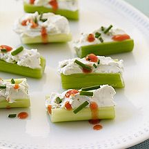 Buffalo-Style Stuffed Celery makes 10 servings @ 1 WWpp each
