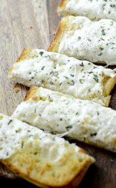 Cheesy Garlic Ciabatta Bread - Recipe Diaries