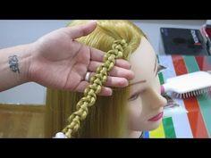 Πλεξίδα φιδιού - Snake braid tutorial - YouTube