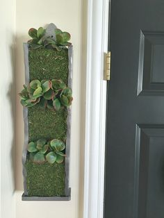 Faux Succulent Wall Planter 3