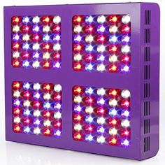 MAGIOVE 600W LED Plant Growing Light Panel Reflector Design for Indoor Hydroponic Garden and Greenhouse Plant Veg Flowering Grow Light System by MAGIOVE ** Want to know more, click on the image.