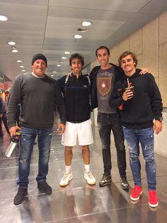 Uruguay nomá: Griezmann festejó el triunfo de Cuevas   Antoine Griezmann, Diego Godín, Futbolistas