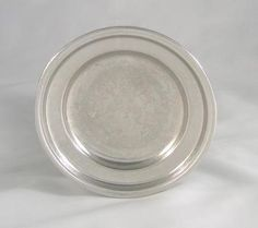 ASL Pewter Plate - 4.5 in. by ASL Pewter. $24.00. This early American pewter plate is hand made and cast from molds dating back to the 1800-80. This early American pewter butter plate is: 4.5 in.