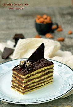 Prajitura in straturi cu ciocolata