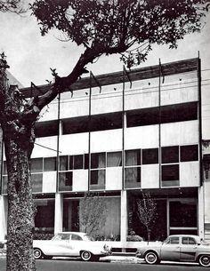 Edificio Colegio México, México DF 1962  Arq. Manuel Rosen Morrison Colegio Mexico, Mexico City 1962