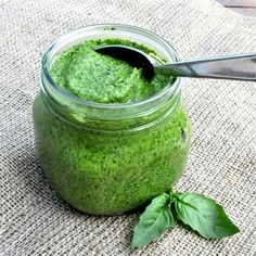 Fed & Fit » Roasted Garlic Paleo Pesto Recipe