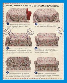 Picasa web albums - Different Ideas Furniture Covers, Furniture Makeover, Diy Furniture, Diy Sofa Cover, Couch Covers, Rideaux Design, Soft Furnishings, Slipcovers, Diy Home Decor